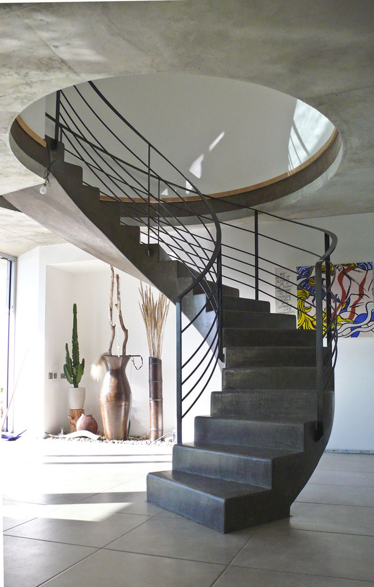 les 25 meilleures id es de la cat gorie escalier fer sur pinterest escalier bois metal espace. Black Bedroom Furniture Sets. Home Design Ideas