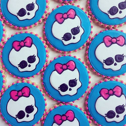 Monster High Cookies #cookiecouture #monsterhighcookies | Flickr - Photo Sharing!