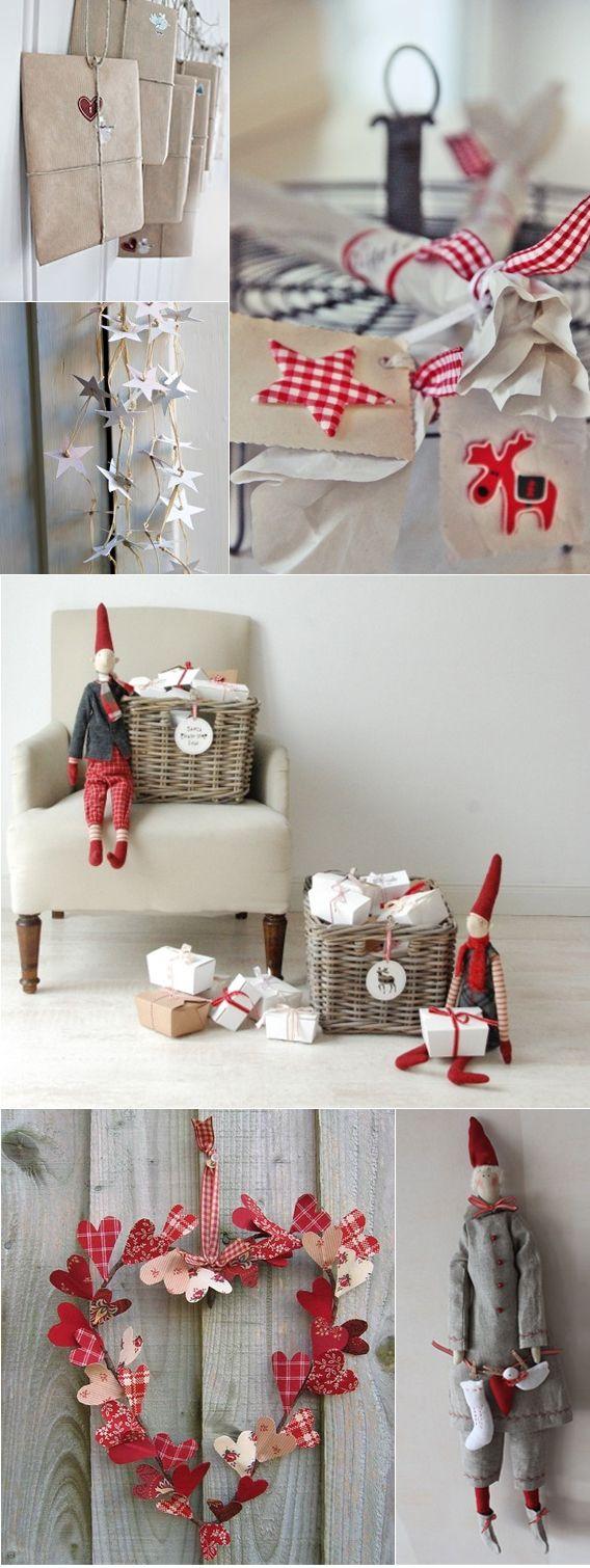 Weihnachts-Dekor inspiriert Weihnachten themed Dekorationen Dekorationen Spitze Idee Weihnachtsschmuck Fertigkeiten DIY