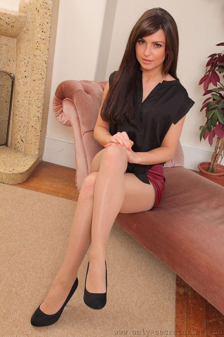Agree, this Sabrina sweet in pantyhose leg tease