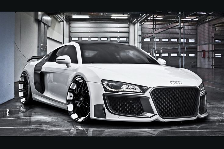 audi-r8 - His dream car xxx
