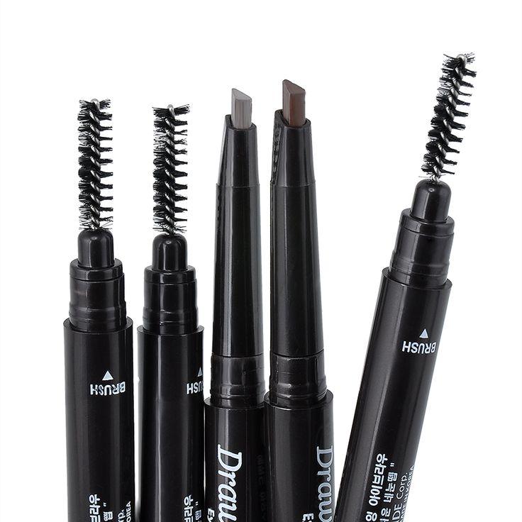 2016 New Waterproof 5 Colors Eye Brow Eyeliner Eyebrow Pen Pencil With Brush Makeup Cosmetic Tool NA985 Professional Makeup Brush Set