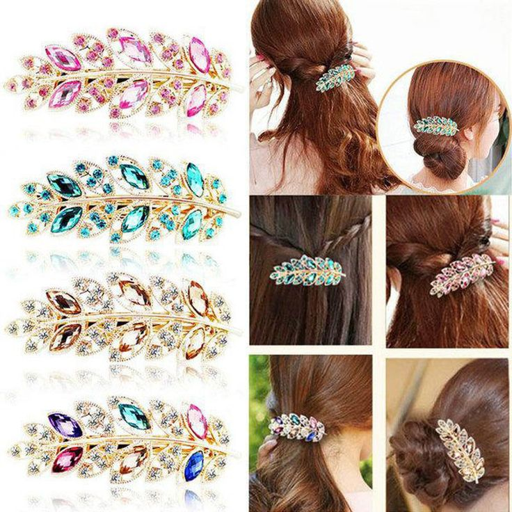 Leaf-shaped Hairpins //Price: $7.95 & FREE Shipping //