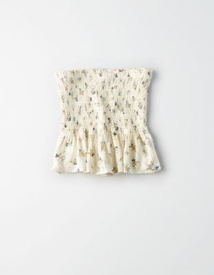 d2507ff268 AE Floral Tube Top by American Eagle Outfitters