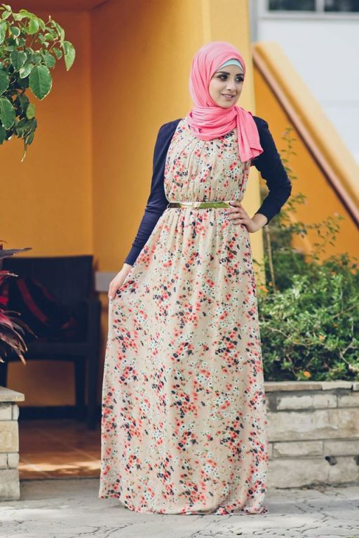 modest hijab outfits Delicate hijab designs for women…