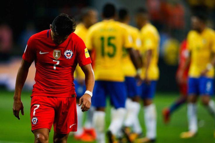 Brasil golea a Chile y lo deja fuera del Mundial - Publimetro México