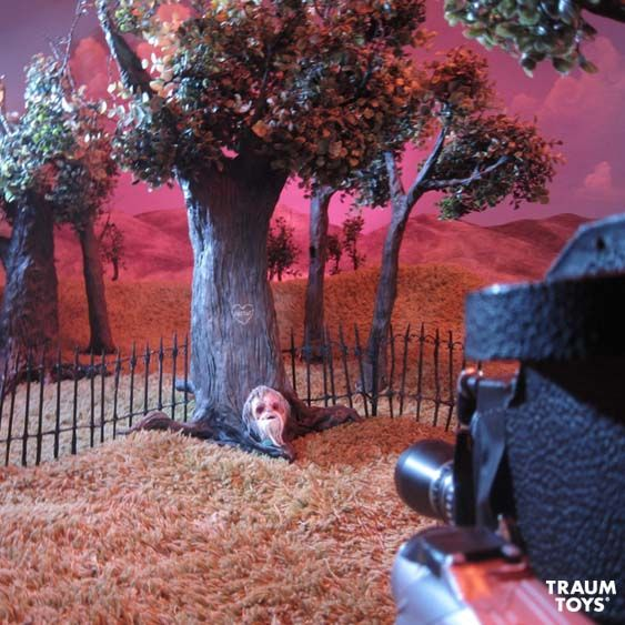 Behind the scenes of the filming of Orfeus stop motion short.