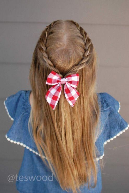 Retour à l'école: Trois styles de tresse de corde de 5 minutes | Qs Hairdos Quick Hairstyles for School # coiffures #quick # coiffures