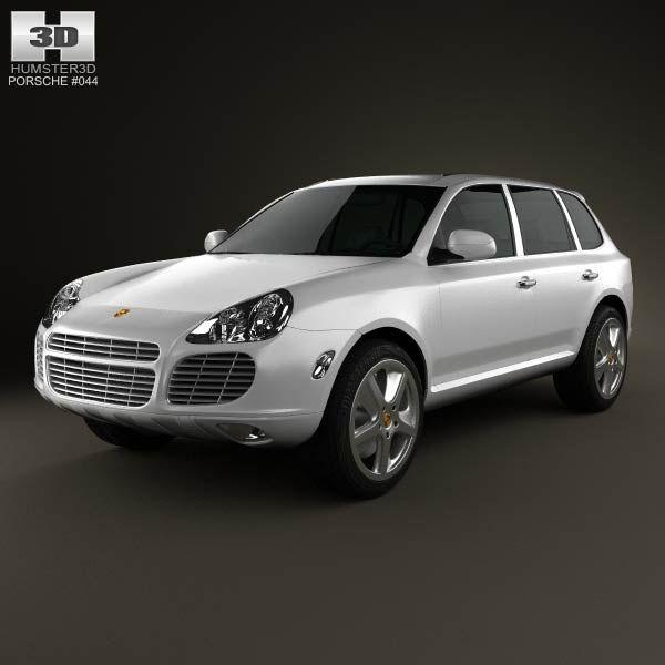 Jaguar Xf Sportbrake 2012 3d Model: 3D Model Of Porsche Cayenne S 2003