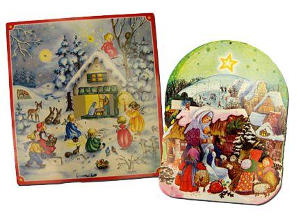 70-luvun joulukalentereita