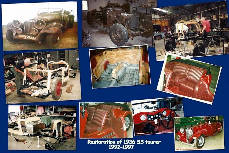 Total Restoration of rare 1936 SS tourer.