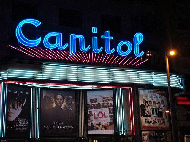 El Cine Capitol en Madrid