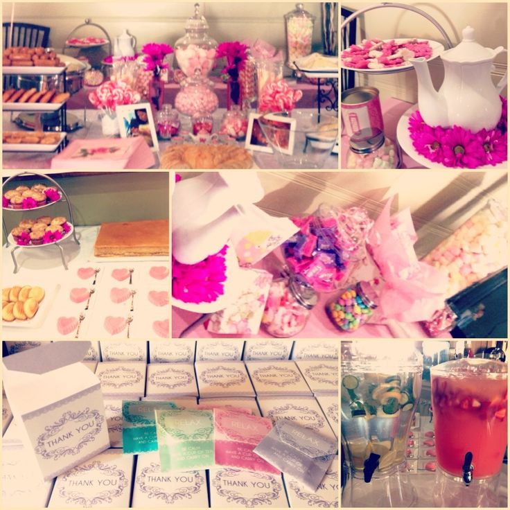 Tea Party themed baby shower.