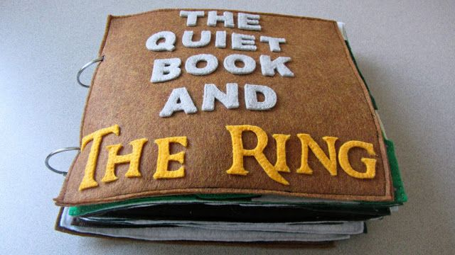 julies blog: Lord Of The Rings Quiet Book