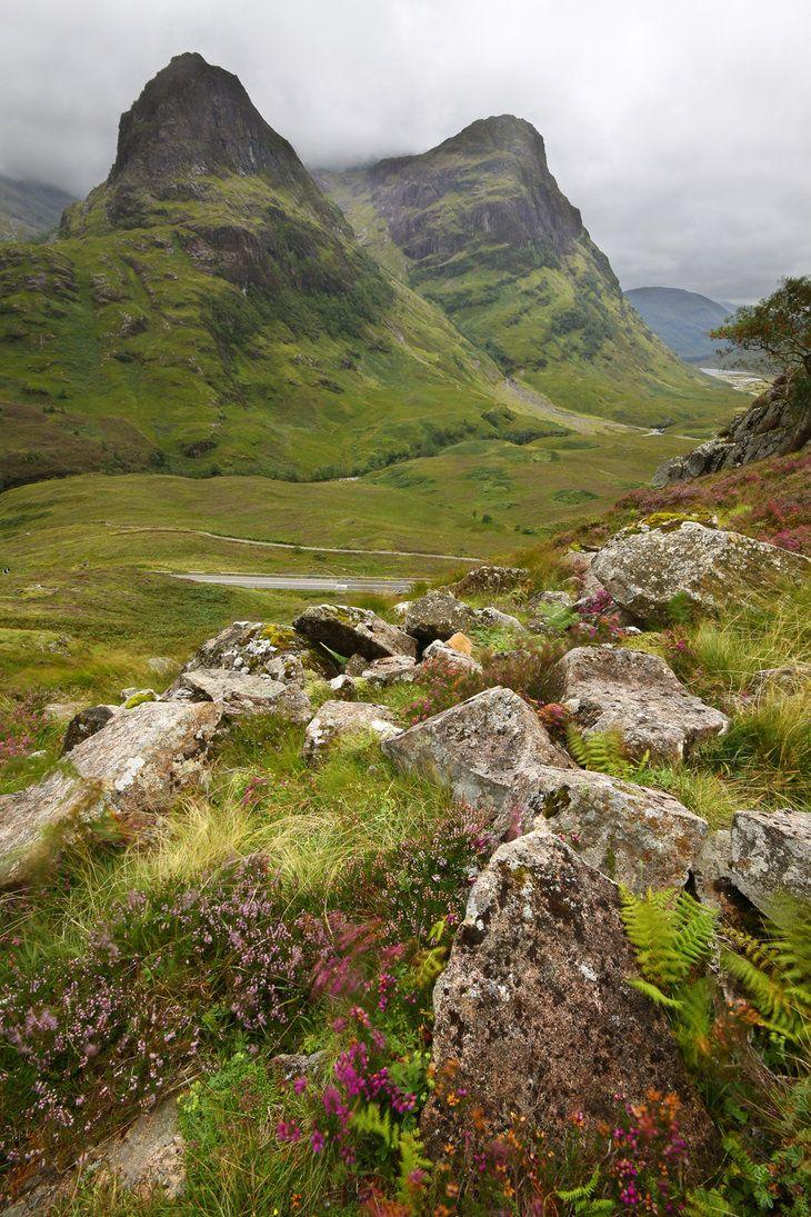 Gleann Comhan (Glen Coe), Highlands of Scotland by DamianKane