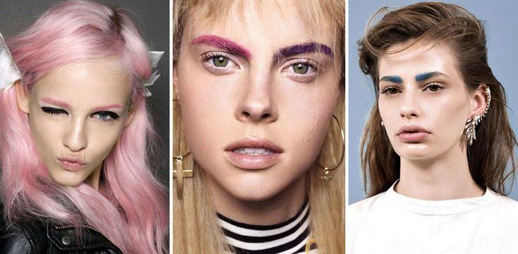 Sopracciglia colorate: pronte a stupire tutti con il trend più pazzo del 2016? : Album di foto - alfemminile