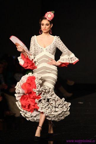 Traje de Flamenca - Carmen-Vega - SIMOF-2013