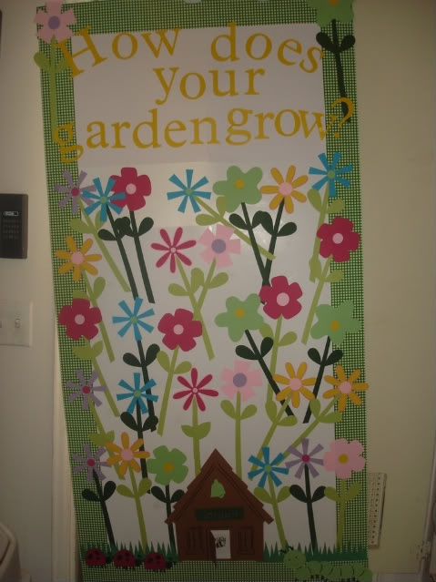 Garden bulletin board theme school ideas pinterest for Garden design ideas cork