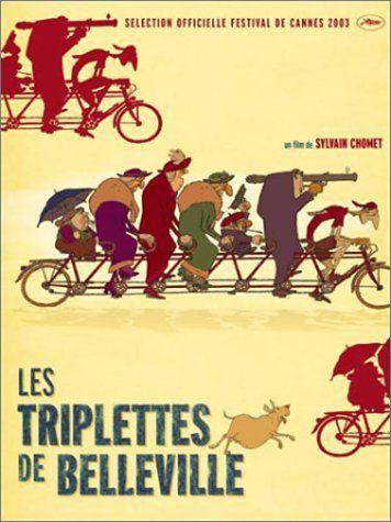 The Triplets of Belleville: Film, Triplets, De Belleville, Triplett De, Poster, Triplettes De, Lestriplett, Les Triplettes, Animal Movie