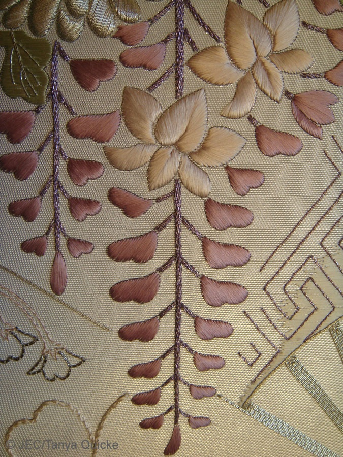 Japanese embroidery advanced pieces