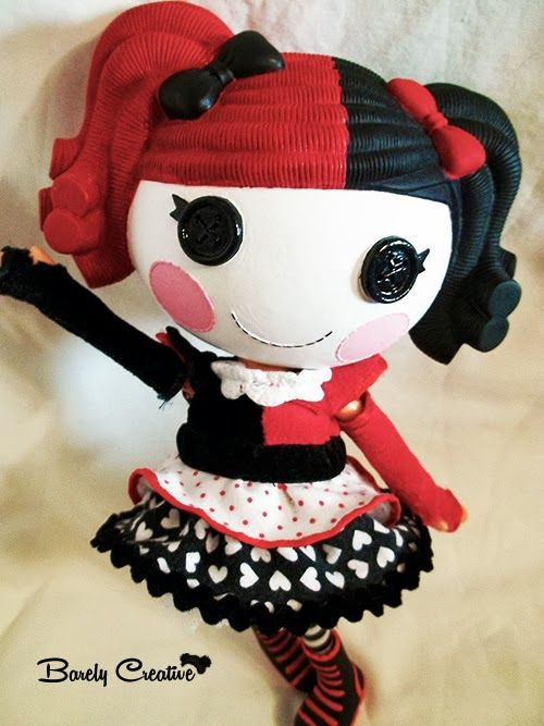 Custom Harley Quinn Lalaloopsy