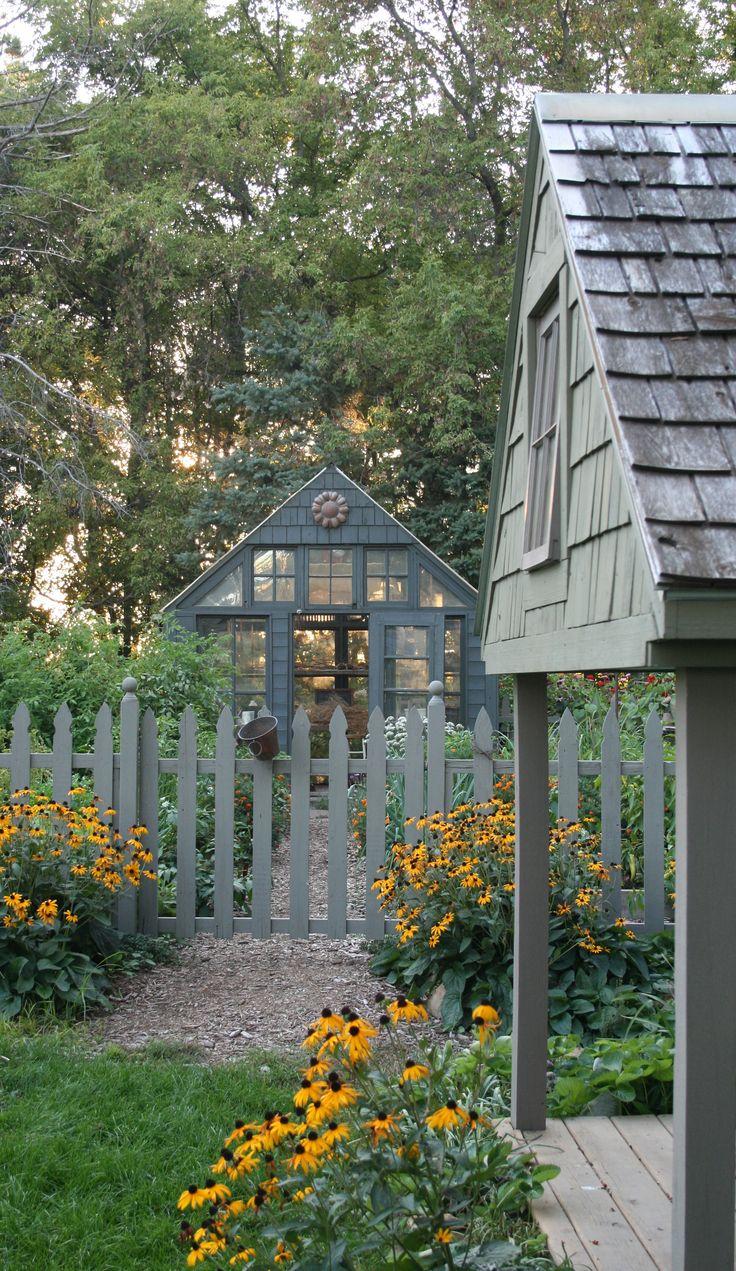 Best 20 cottage garden sheds ideas on pinterest yard - When you walk through the garden ...