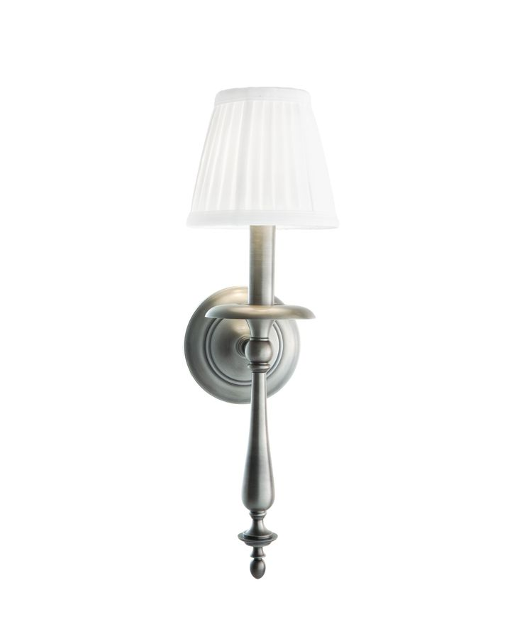 Darby Home Co Fawnia Wall Sconce Finish: Antique Nickel