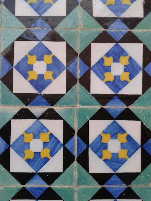 Tiles in Caldas da Rainha - Portugal
