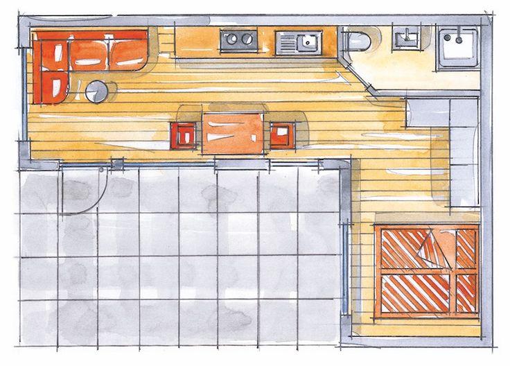 CUBUS TYP 3 beinhaltet eine hochwertige Ausstattung, bei der auf Wunsch auf Barrierefreiheit geachtet werden kann. Es empfiehlt sich, zwei Cuben miteinander zu verbinden. 28 qm Wohnfäche, geeignet für 2-3 Personen 9,20 m x 6,40 m Grundmaße außen 2,50 m Innenraumhöhe Fußböden aus Eiche-Landhausdielen Sanitärbereich mit Dusche, WC und Waschbecken; barrierefrei und Rollstuhl geeignet …