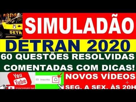 Simulado Do Detran 2020 Passe Direto Na Prova Teorica 60