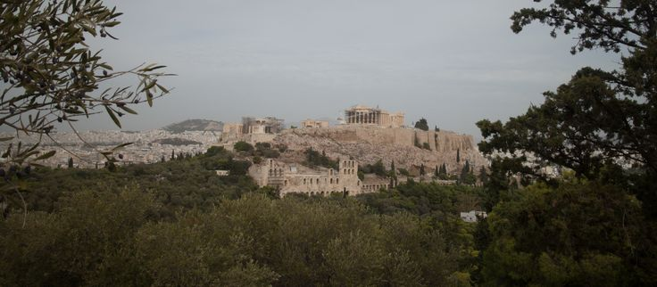 The Acropolis, Athens, Greece, Trees, SwedishRucksack.com