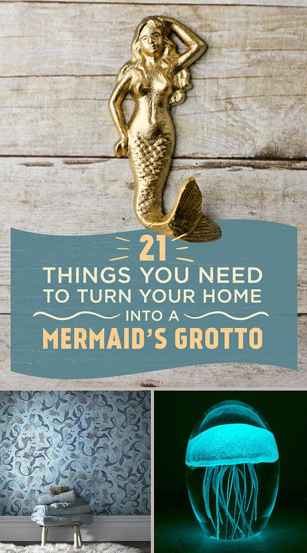 21 Things You Need To Turn Your Home Into A Mermaid's Grotto