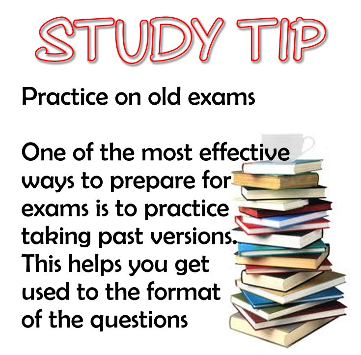 ways to prepare for examination Final exam review ideas  reviewing for final exams is a valuable way to help students learn and reduces student anxiety related to finals (weimer, 1998.