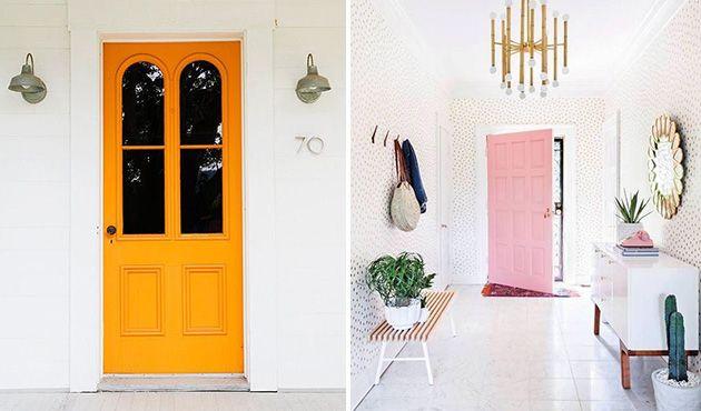 Decorar a porta: Veja dicas para pintar e estilizar - ZAP em Casa