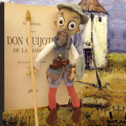 Don Quijote. Patrón Premium en patronesamigurumi.org