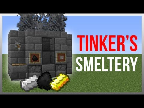Minecraft 1.9: Redstone Tutorial - Tinker's Construct Smeltery! - YouTube