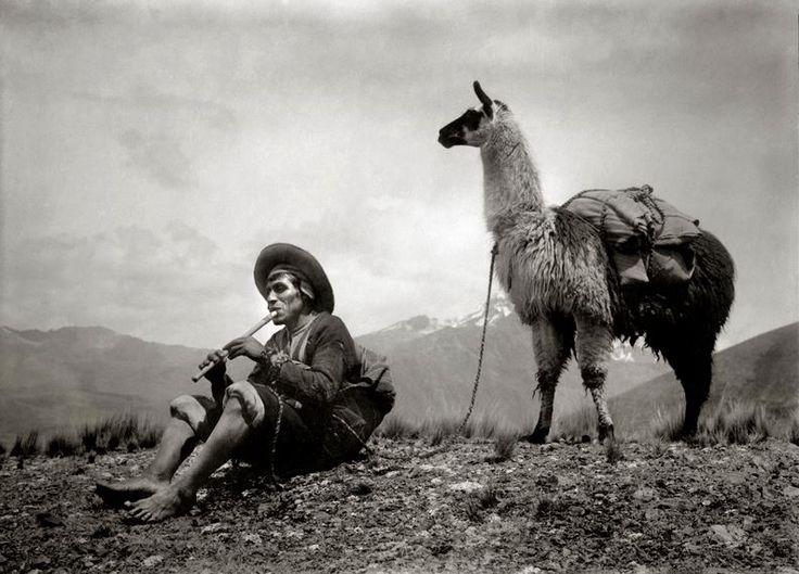 Fotografía de Martín Chambi. Perú. Tomado de Marca PERÚ.
