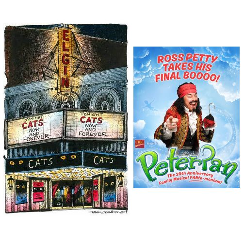 TONIGHT at the Elgin Theatre is Peter Pan. http://ow.ly/WcV0G  #Fun #Toronto #Happy