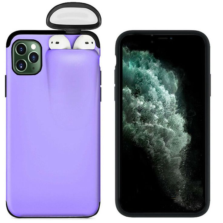 Cheap price purple hybrid hard for iphone 11 pro max case