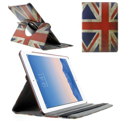 Mesh - iPad Air 2 Hoes - Rotatie Cover Britse Vlag | Shop4TabletHoes