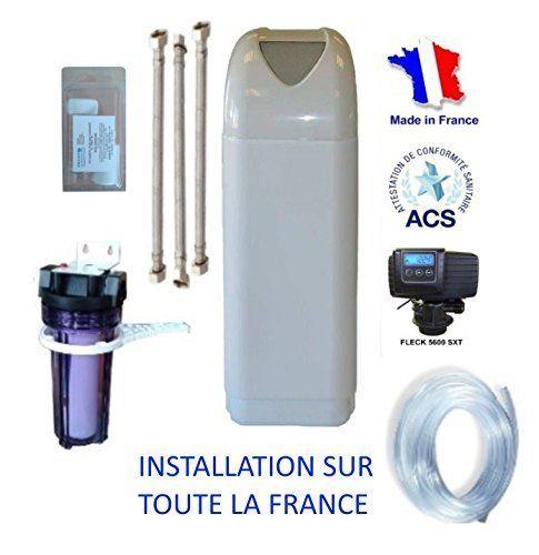 Adoucisseur d'eau FLECK NEVADA 30 litres avec accessoires: Amazon.fr: Bricolage