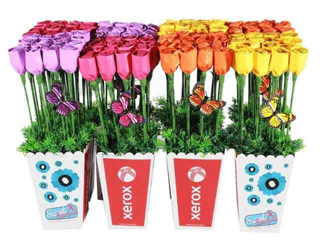 Branded Flower Power at Chocolates Bouquets | Ignition Marketing Corporate Gifts