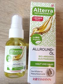 Alterra Naturkosmetik Limitierte Edition Allround-Öl mit Bio-Arganöl aus Marokko für Haut und Haar / Aktueller Beauty-Kauftipp