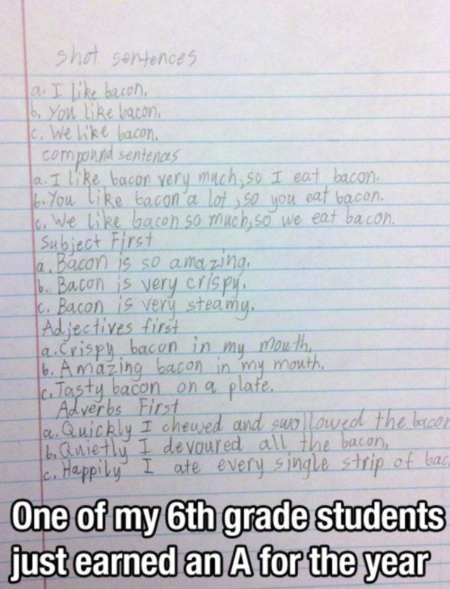 This kid knows what's up! Lol