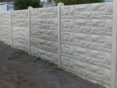 17 Best Ideas About Concrete Fence Panels On Pinterest