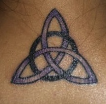 Celtic Triquetra.. just had this one added ... its on my ankle