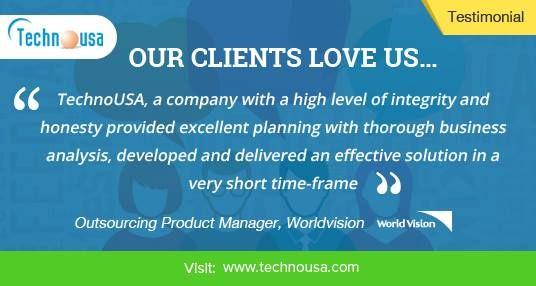Technousa Consulting Services - Review   IT Consulting   Software Development   Web/Mobile App Development   Web Design