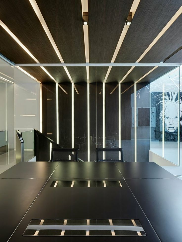 24 best images about ceiling treatments on pinterest for Modern office lighting design