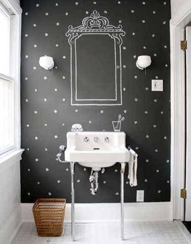la peinture tableau noir une peinture pour meuble et murs la fois avec - Tableau Pour Cuisine Pour Courses