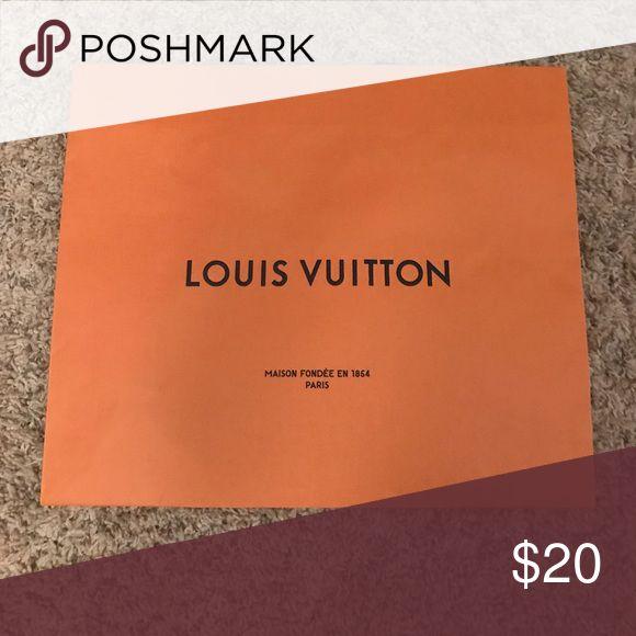 Authentic Louis Vuitton Shopping Bag Authentic (purchased in Italy) large Louis Vuitton shopping bag Louis Vuitton Accessories